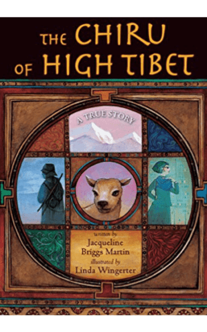 The Chiru of High Tibet - book cover