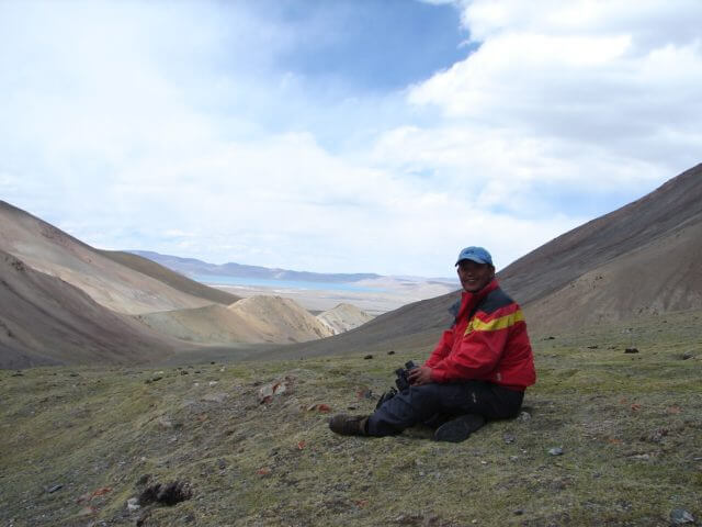 photo of our Tibetan guide