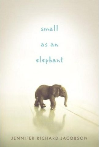 "The cover of the book ""Small as an Elephant"""