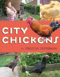 "Cover of the book ""City Chickens"""