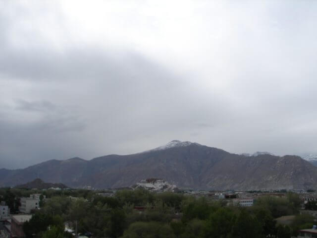 early photo from Lhasa; May 21