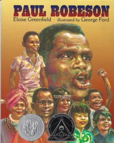 Cover of book - Paul Robeson by Eloise Greenfield