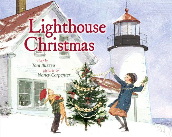 """The cover for """"Lighthouse Christmas"""""""